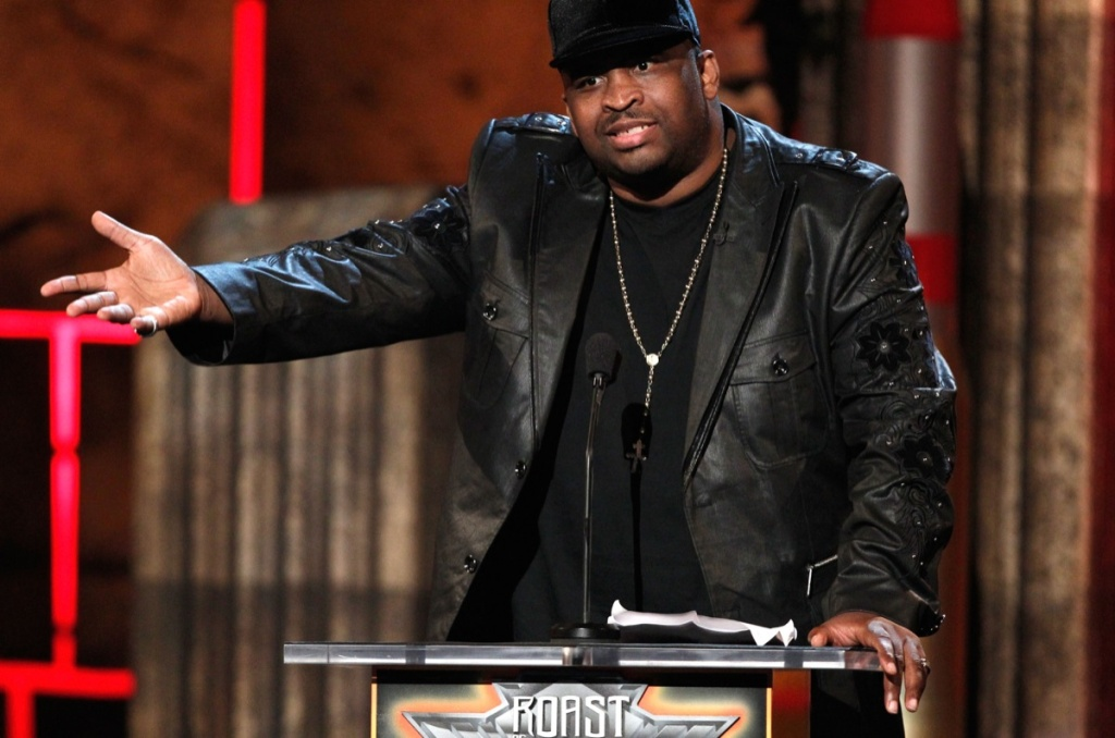 Patrice O'Neal speaks onstage at Comedy Central's Roast of Charlie Sheen held at Sony Studios on Sept. 10, 2011 in Los Angeles.