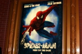 Big bang Bono-scored musical 'Spider-Man: Turn Off the Dark' at the Foxwoods Theater in New York City.