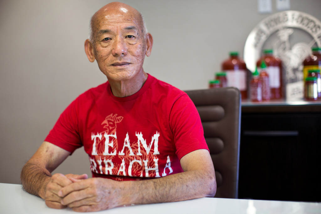 David Tran is the owner of Huy Fong Foods Inc. in Irwindale. His company is named after the ship that brought Tran from Vietnam to the United States in 1978.