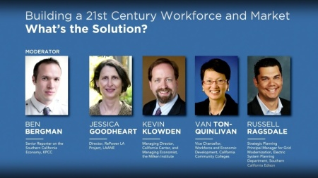 Building a 21st century workforce and market – what's the solution?