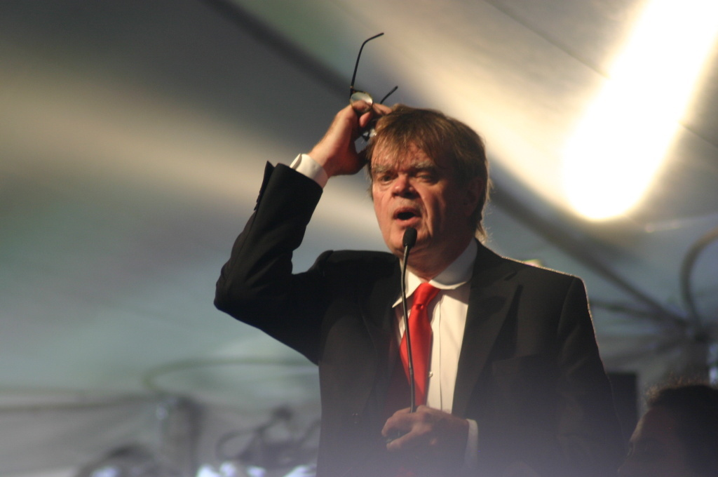 Keillor will end his tenure as host with performances at some of his favorite outdoor venues, including Wolf Trap near Washington, D.C., Ravinia near Chicago and Tanglewood in Massachusetts, according to
