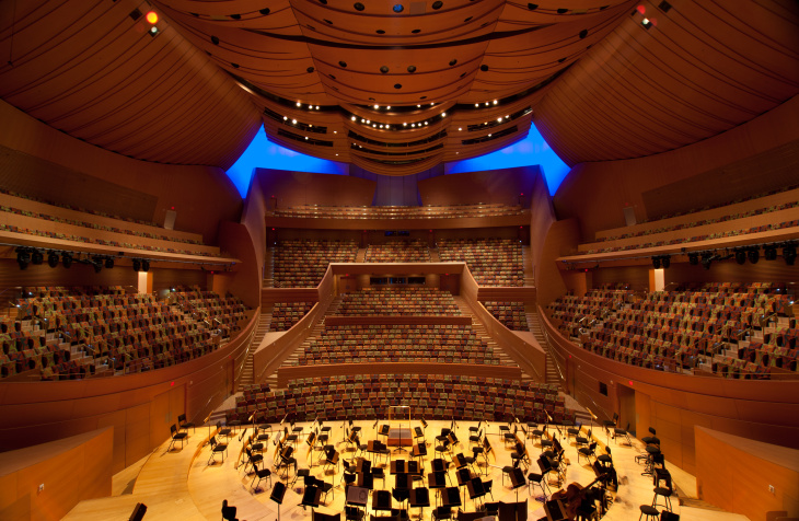 Walt Disney Hall interior