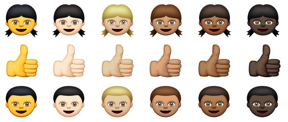 Here are the latest set of emoji.