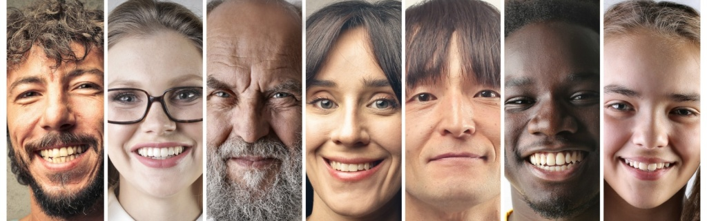 Pictrues of people with different age