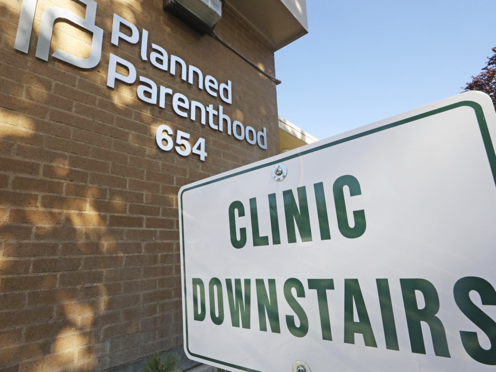 A Planned Parenthood of Utah facility in Salt Lake City. The Biden administration is moving to reverse a Trump-era family planning policy that critics describe as a domestic