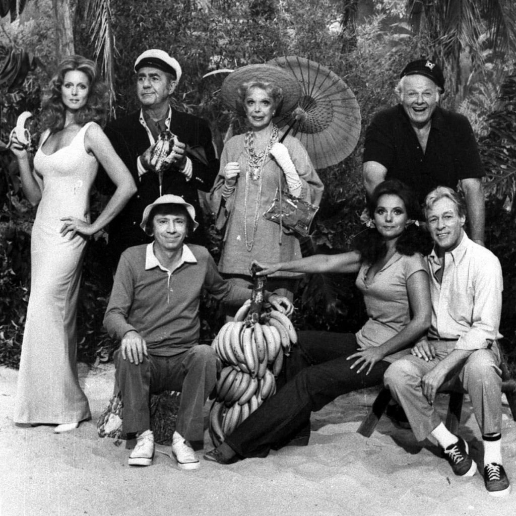 "File: The cast of ""Gilligan's Island"" is shown in this 1978 photo."