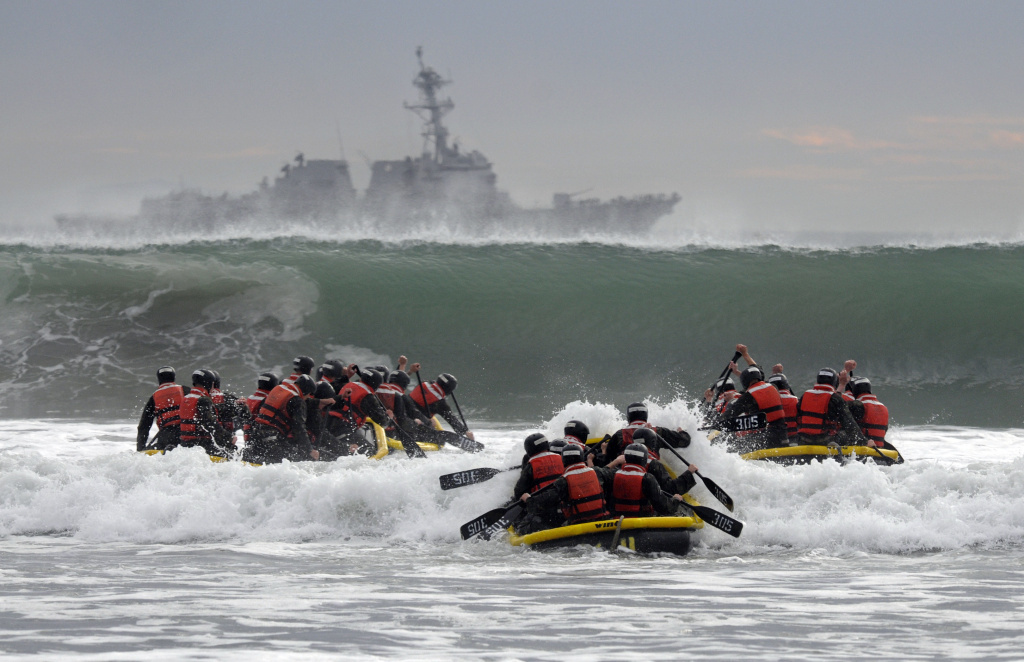 The Navy gets its first female SEAL candidate