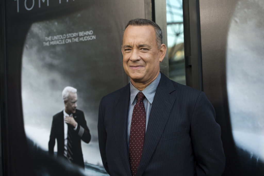 Actor Tom Hanks attends the screening of The Warner Bros. Pictures