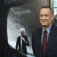 "Actor Tom Hanks attends the screening of The Warner Bros. Pictures ""Sully"" in West Hollywood, California, on September 8, 2016."