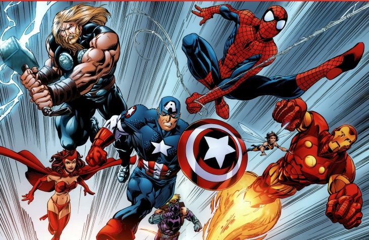 An image from a teaser for Marvel Comics' 2015
