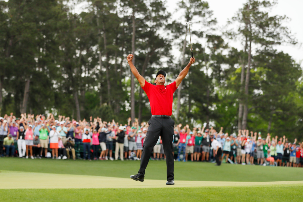 68fa7ecb54621 AirTalk® | Audio: A comeback unlike any other: Where does Tiger Woods' epic  Masters win fit in the annals of great career comebacks? | 89.3 KPCC