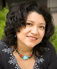 Author Reyna Grande.