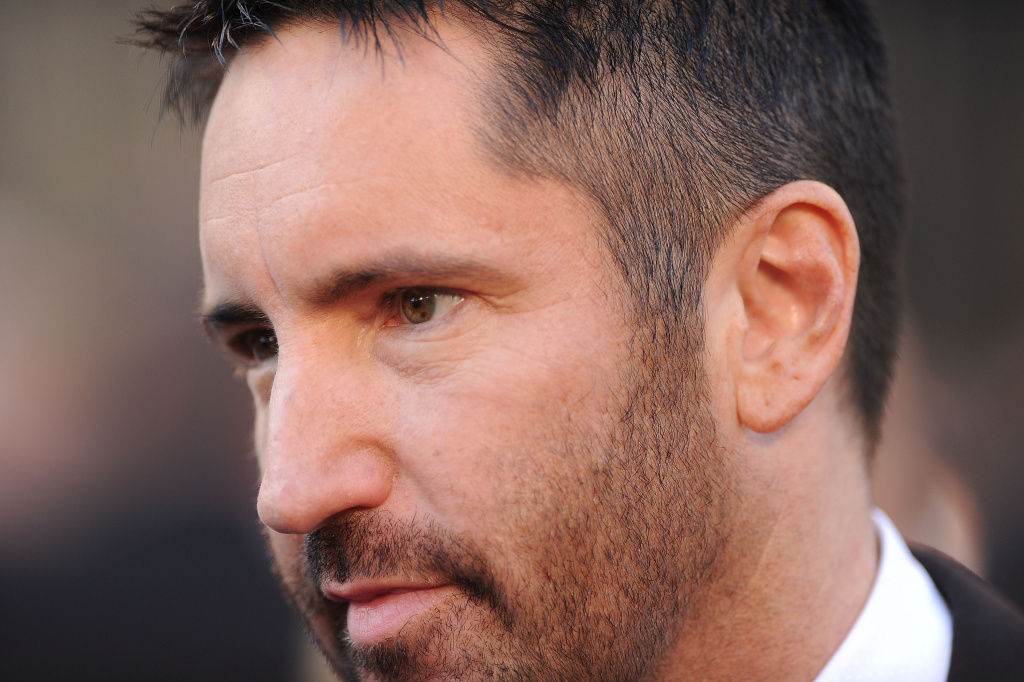 Composer Trent Reznor, who collaborated with Atticus Ross on the new soundtrack for The Girl With The Dragon Tattoo.