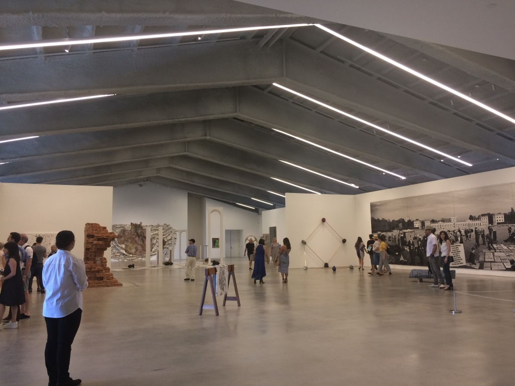 Marciano Art Foundation, top floor gallery