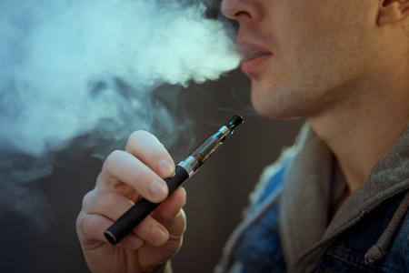 Teens' use of vape devices is increasing, and they're not always aware if nicotine is in the mix.