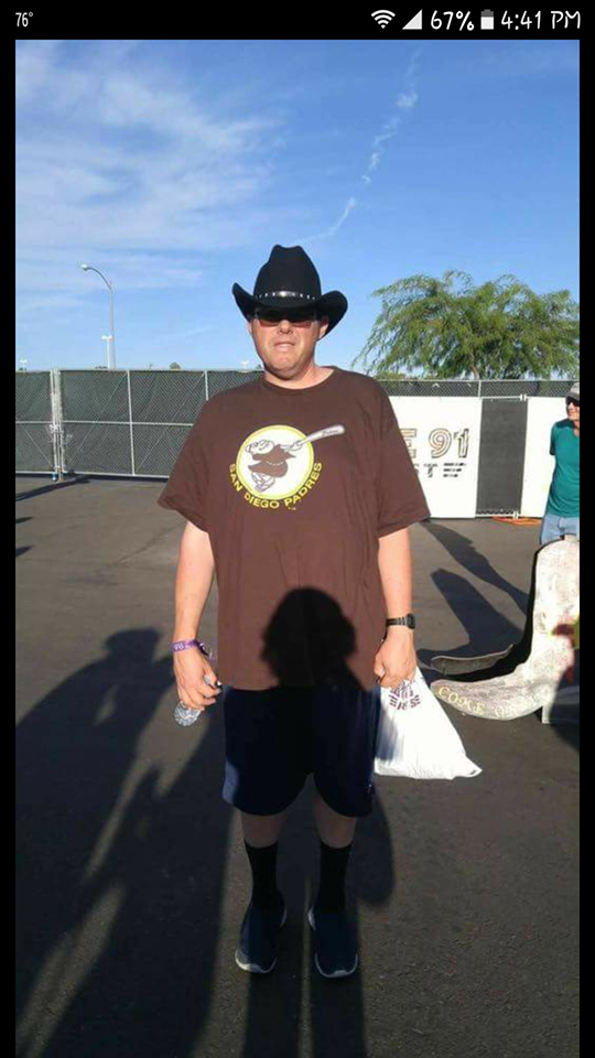 Las Vegas shooting victim Chris Hazencomb.