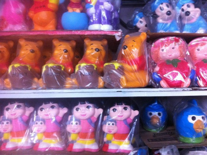 Plaster piggy banks have been a mainstay of Tijuana's tourist scene for decades.