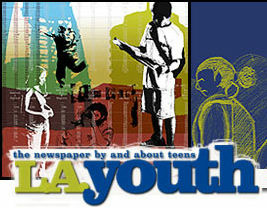 The L.A. Youth logo.