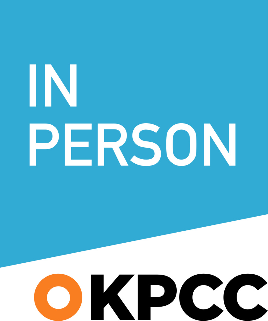The new KPCC In Person logo