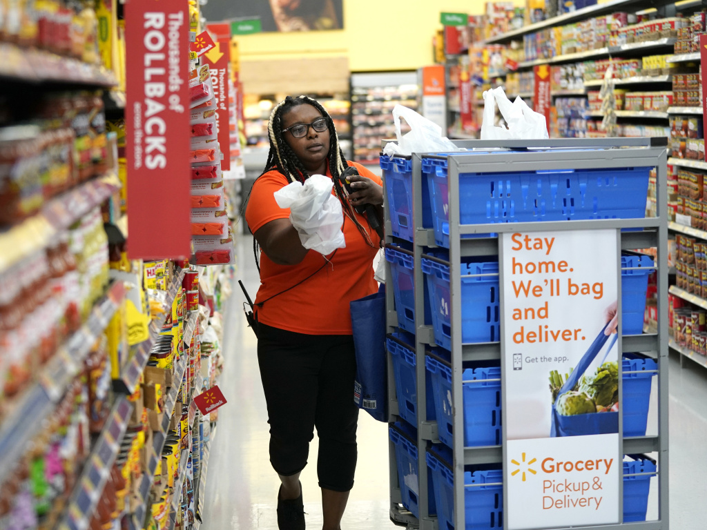 Walmart and Amazon began offering online purchases with food stamps in April as part of the USDA's pilot program. Now, both companies are expanding services for low-income shoppers.