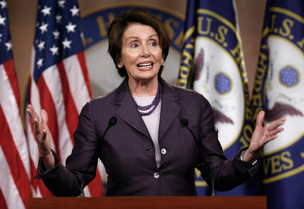By a near-party line vote of 242-173, the House turned aside an effort by Minority Leader Nancy Pelosi, D-Calif., to hold an immediate vote on the legislation.