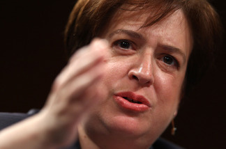 U.S. Supreme Court Justice nominee Elena Kagan answers questions from members of the Senate Judiciary Committee on the second day of her confirmation hearings on Capitol Hill June 29, 2010 in Washington, DC. Kagan is U.S. President Barack Obama's second Supreme Court nominee since taking office.