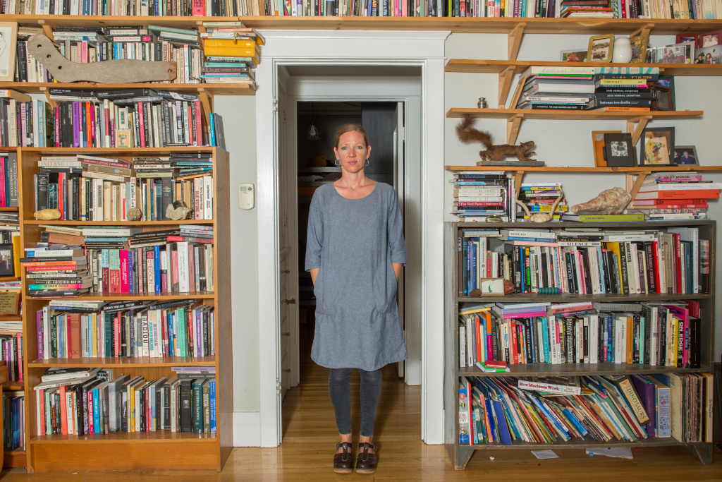 Maggie Nelson, 2016 MacArthur Fellow, At home, Los Angeles, California.