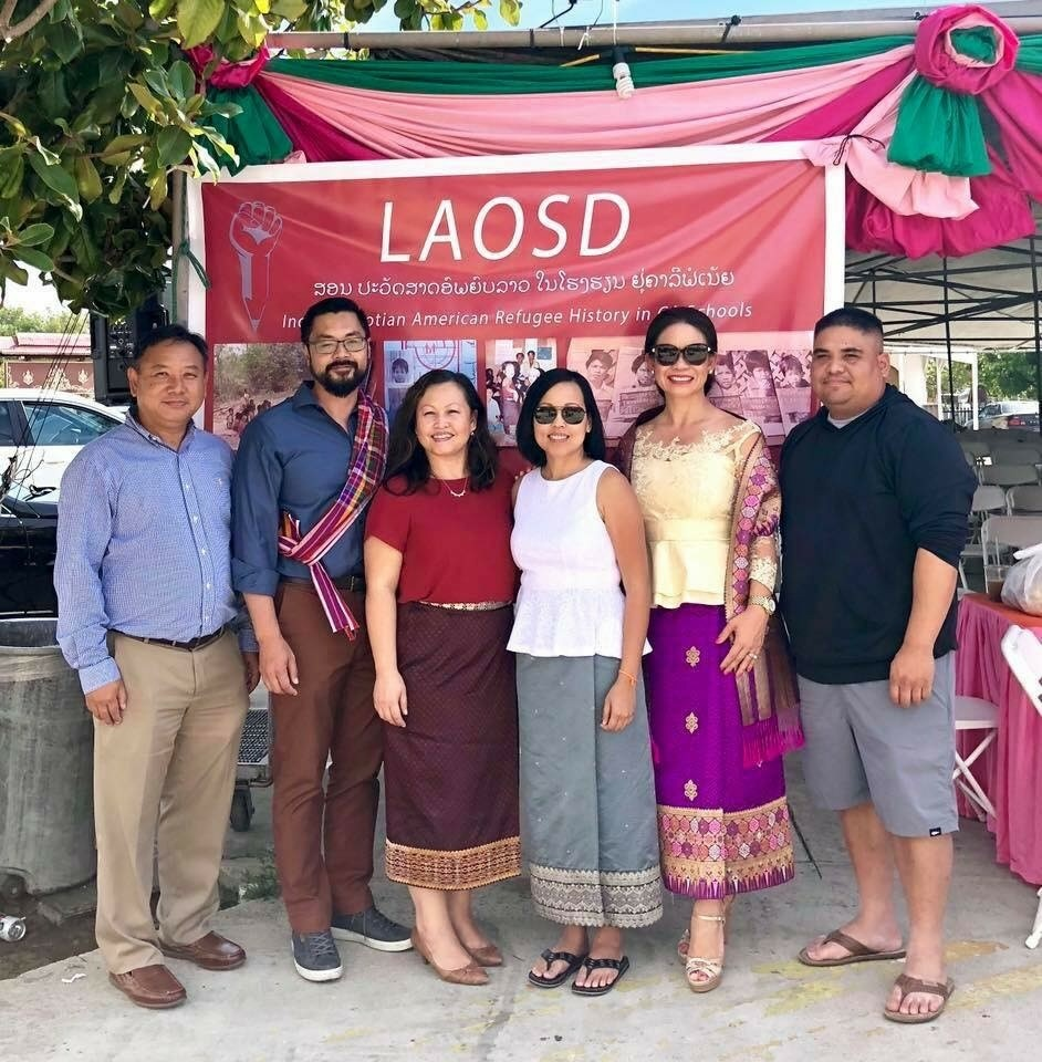 A group of Laotians based in San Diego County led a statewide effort to include Laotian history in state textbooks.