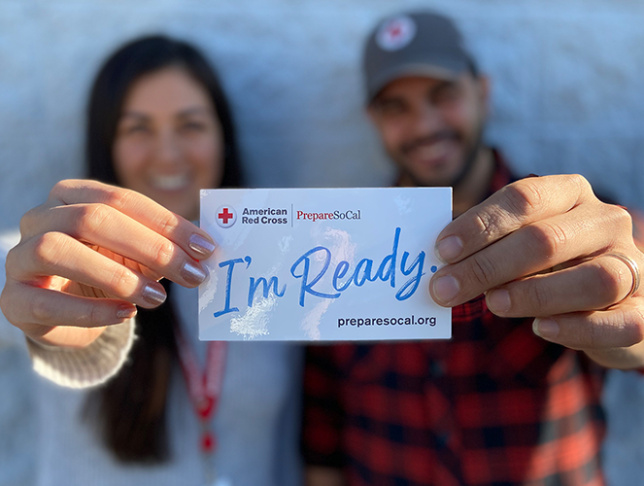 American Red Cross PrepareSoCal Campaign - Rectangle