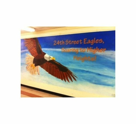 24th Street Elementary School Mascot