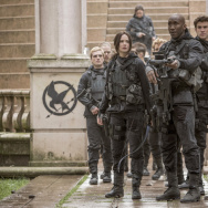 A scene from The Hunger Games: Mockingjay Part 2 takes place in the fictional capital city Panem, which was filmed in Berlin.