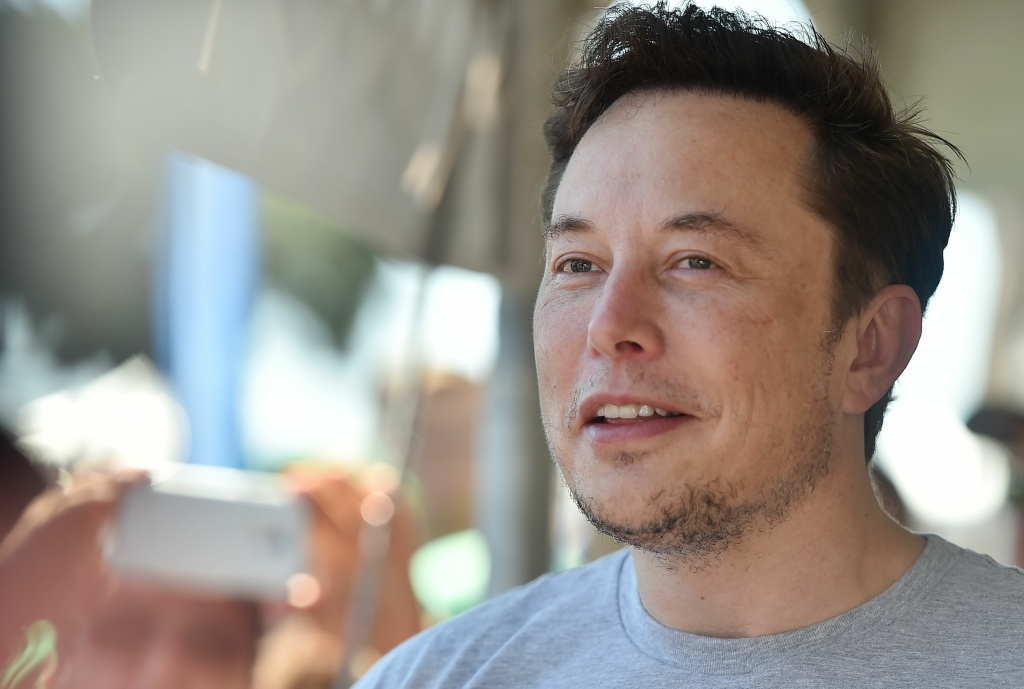 SpaceX, Tesla and The Boring Company founder Elon Musk attends the 2018 SpaceX Hyperloop Pod Competition, in Hawthorne, California on July 22, 2018.