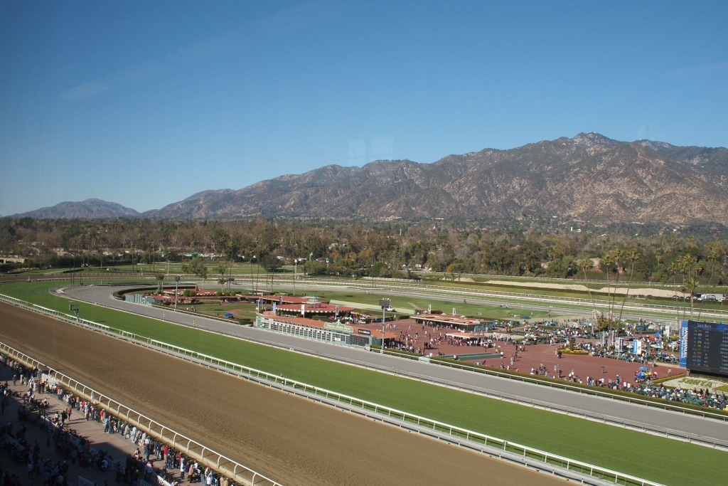 The day after Christmas is also the start of horse racing season at Santa Anita Park.
