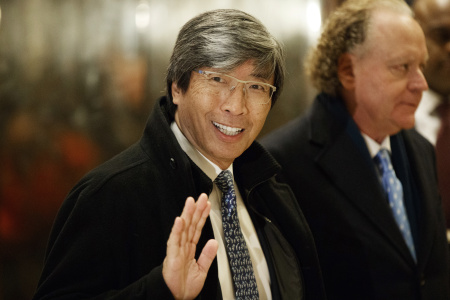 Billionaire Dr. Patrick Soon-Shiong officially takes control of the Los Angeles Times and The San Diego Union-Tribune.