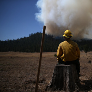 Rim Fire Continues To Burn Near Yosemite National Park