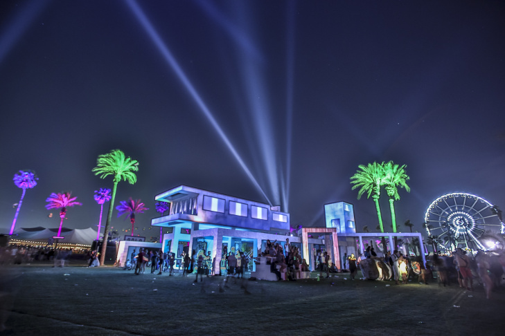 General view of the atmosphere at day 3 of the 2013 Coachella Valley Music & Arts Festival at the Empire Polo Club on April 14, 2013 in Indio, California