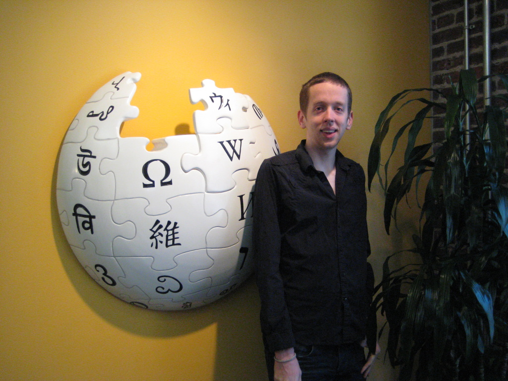 Kevin Gorman, the new Wikipedian in residence at UC Berkeley.