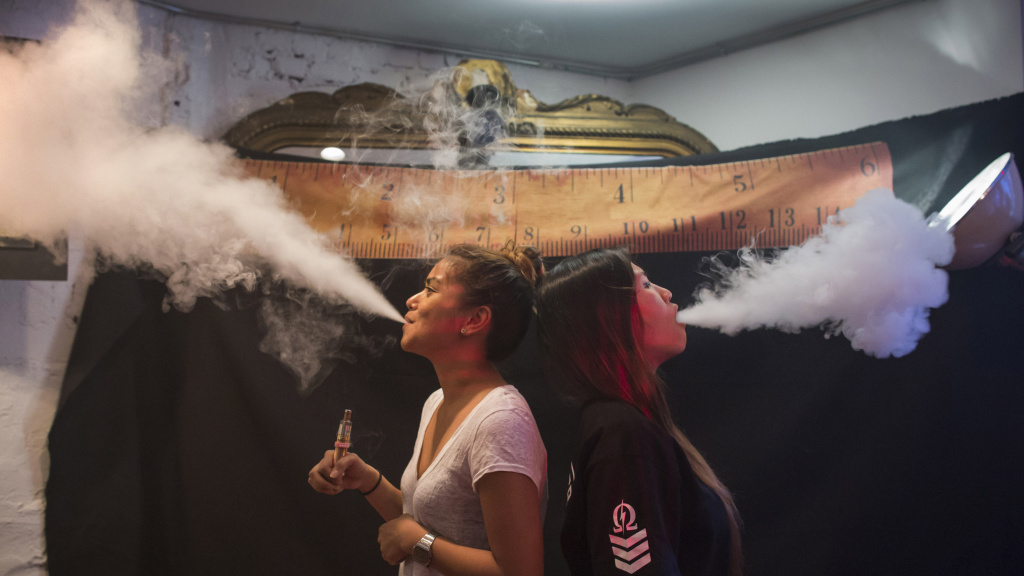 Vape was chosen as the word of the year for 2014 in part because it provides a window
