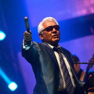 Pete Escovedo, still percussing at 81.