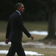 Obama Departs White House For North American Leaders Summit In Mexico