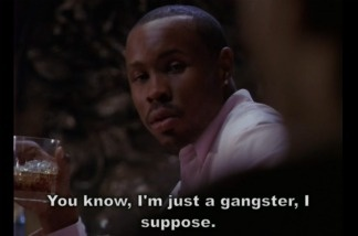 Screenshot of the character Avon Barksdale in The Wire.