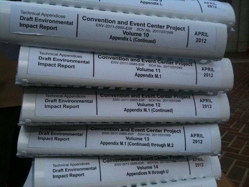 AEG's 10,000-page Environmental Impact Report