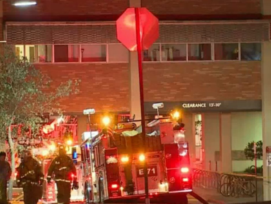Classes could be canceled Tuesday after an overnight fire broke out at the UCLA School of Dentistry.