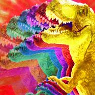 Hey, is that dinosaur tripping, man?
