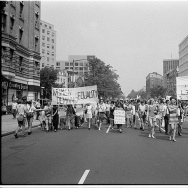 Women's liberation march, Washington DC, 1970.