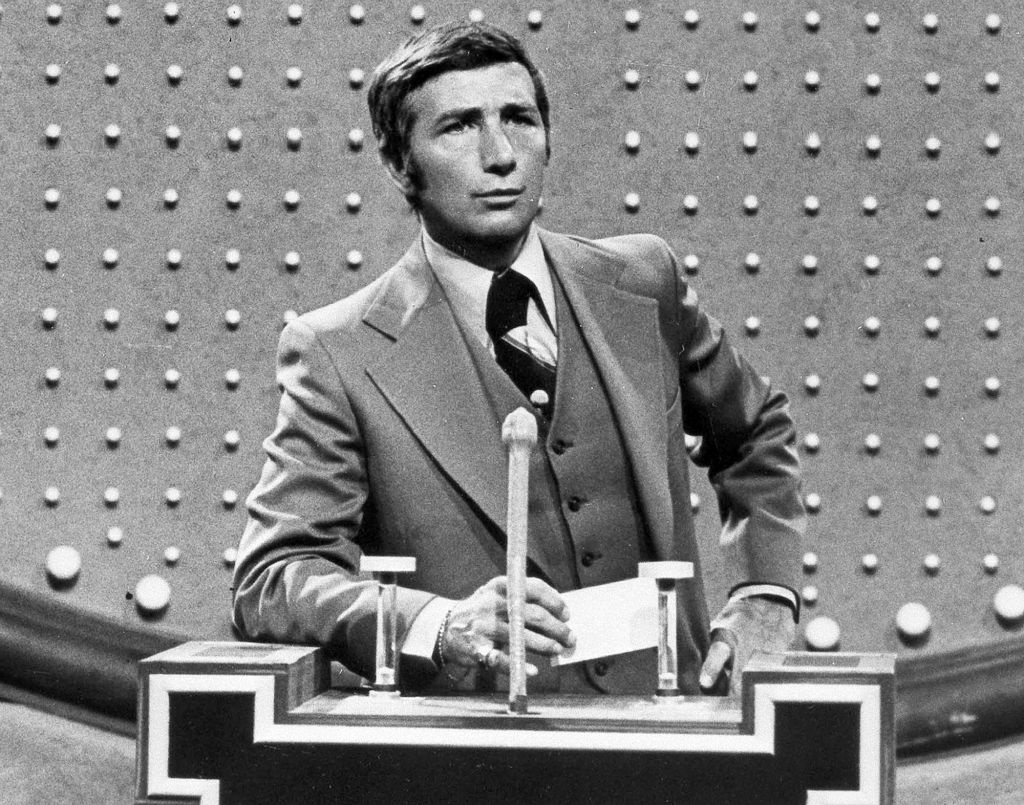 "File: This June 1978 photo shows Richard Dawson, host of ""Family Feud"" in character. Dawson, the wisecracking British entertainer who was among the schemers in the 1960s sitcom ""Hogan's Heroes"" and a decade later began kissing thousands of female contestants as host of the game show ""Family Feud"" died Saturday, June 2, 2012. He was 79."