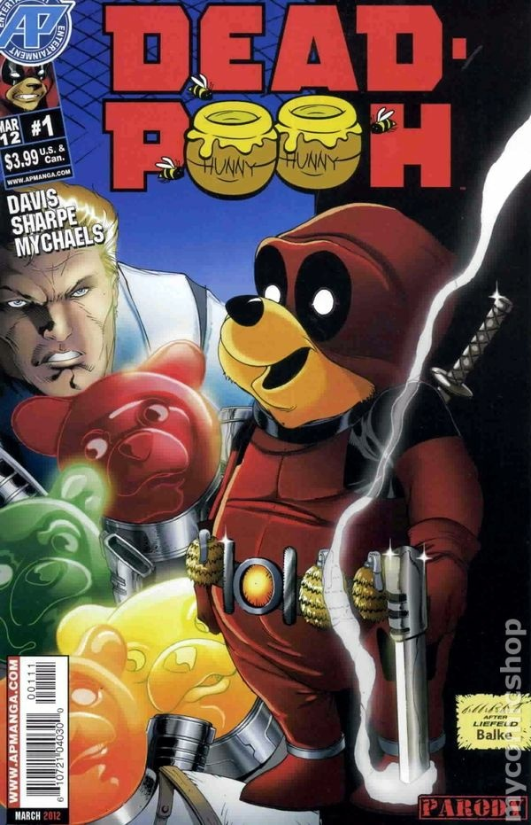 Dead-Pooh, Issue #1.
