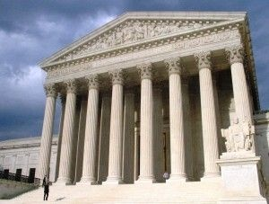 The U.S. Supreme Court Building, May 2006