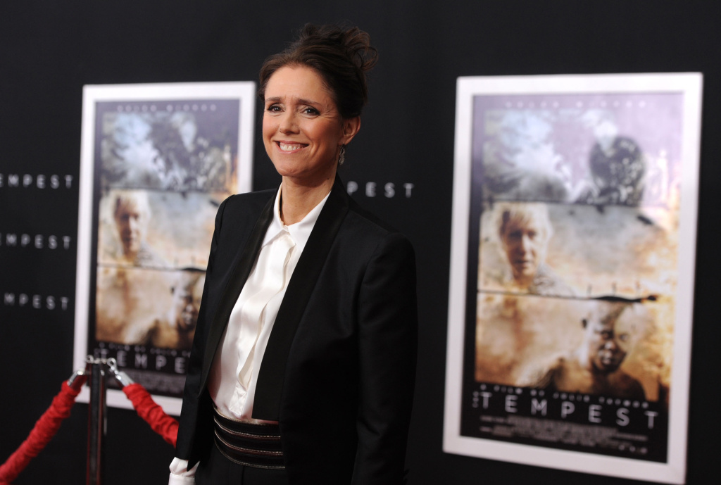Director/writer/producer Julie Taymor arrives at the premiere of Touchstone Pictures and Miramax Films' 'The Tempest' at the El Capitan Theatre on December 6, 2010 in Los Angeles, California.