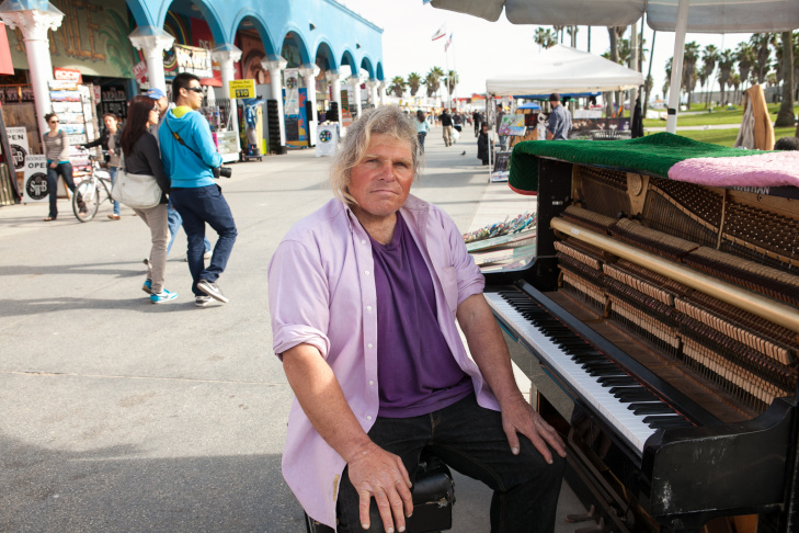 Venice Boardwalk Piano Player - 6